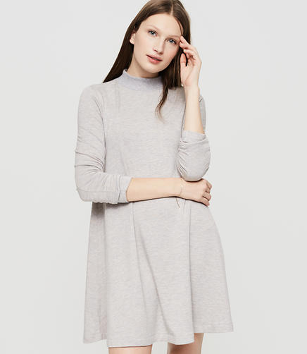 Image of Lou & Grey Signaturesoft Mockneck Dress
