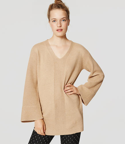 Image of Bell Sleeve Tunic Sweater