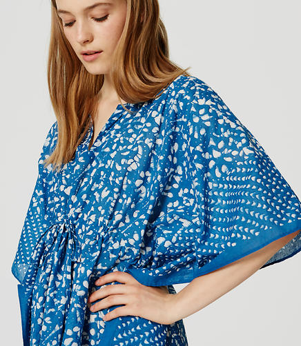 Image of LOFT x Village Ways Caftan