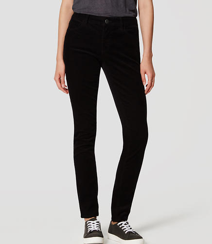 Image of Curvy Skinny Corduroy Pants