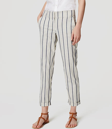 Image of Herringbone Stripe Pants