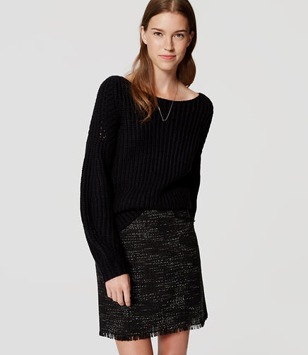 Image of Curve Sleeve Sweater
