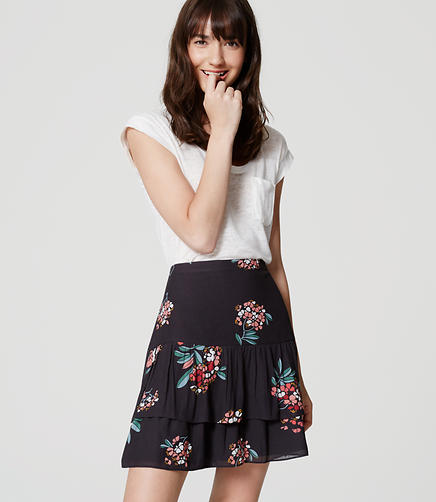 Image of Hydrangea Flippy Skirt