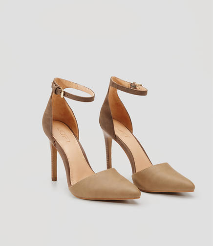 Image of Ankle Strap Pumps