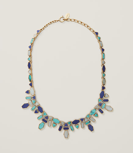 Image of Mixed Stone Statement Necklace