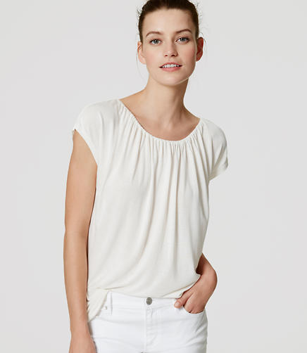 Image of Shirred Tee
