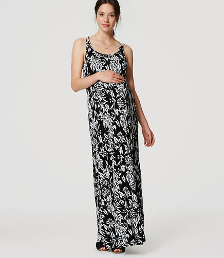 Image of Maternity Subtropic Maxi Dress