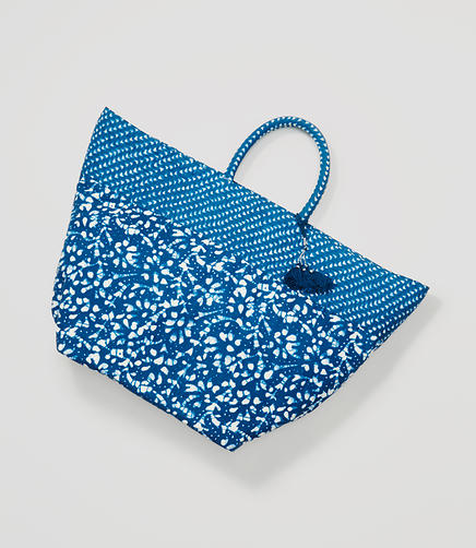 Image of LOFT x Village Ways Batik Tote