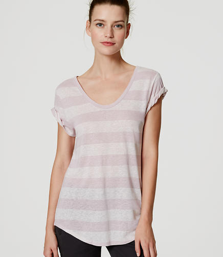 Image of Striped Vintage Soft Tee