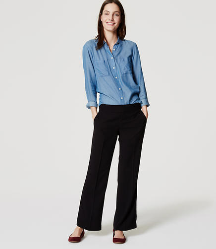 Image of Crepe Trousers