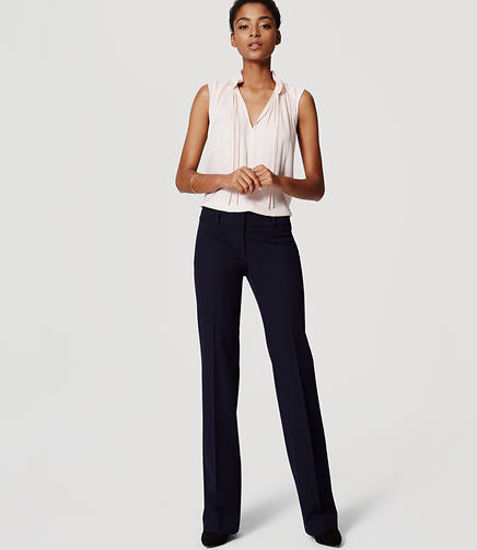 Image of LOFT Custom Stretch Trousers in Marisa Fit