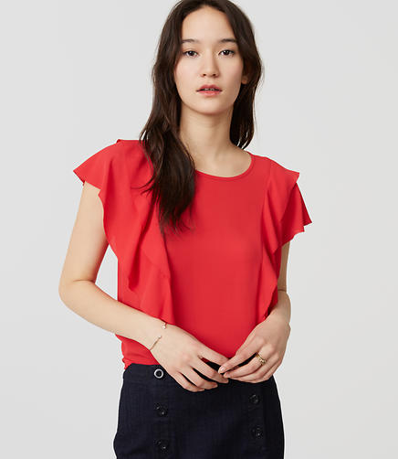 Image of Ruffle Top