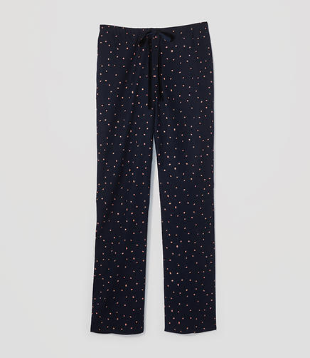 Image of Dotted Pajama Pants