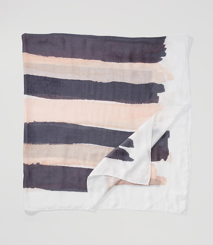 Image of Painterly Stripe Scarf