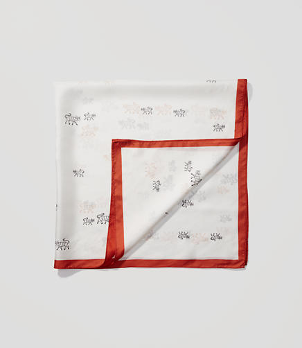 Image of Cat Silk Scarf