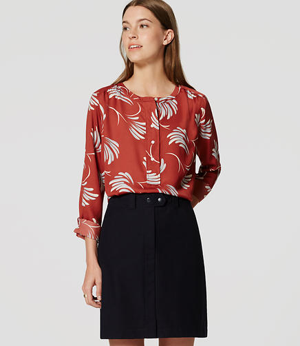 Image of Willow Modern Henley Blouse