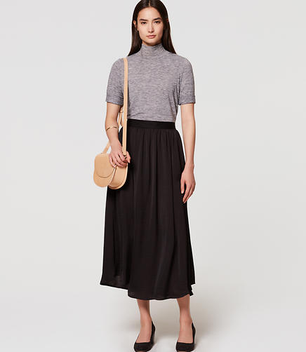 Image of Gathered Maxi Skirt