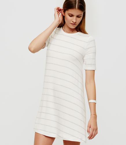 Image of Lou & Grey Striped Signaturesoft Swing Dress