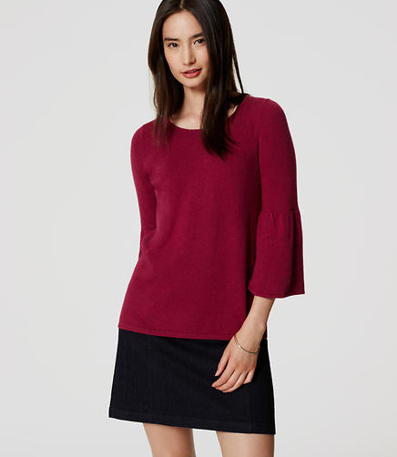 Image of Trumpet Sleeve Sweater