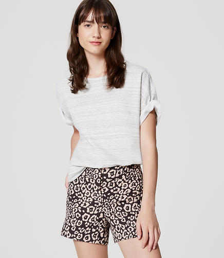Image of Petite Spotted Shorts