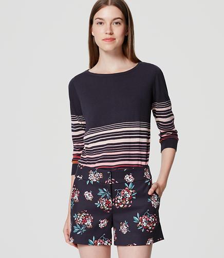 Image of Petite Hydrangea Riviera Shorts