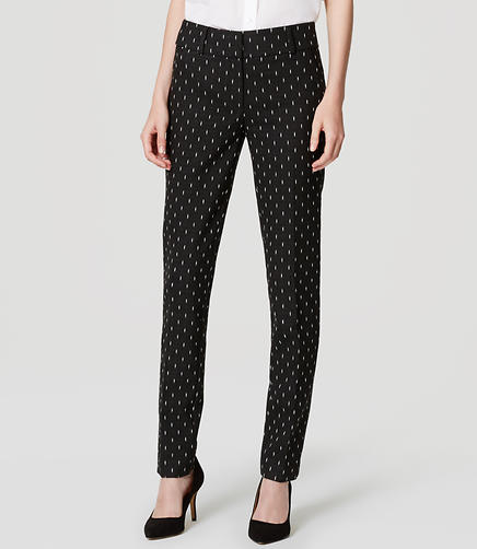 Image of Tall Diamond Dot Essential Skinny Ankle Pants in Marisa Fit