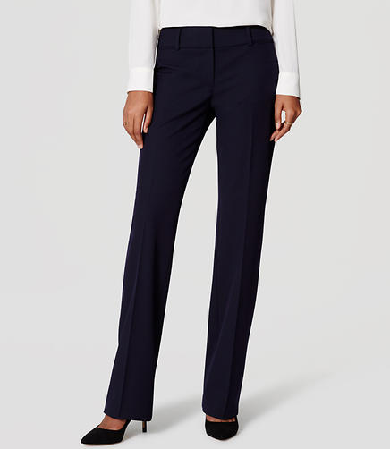 Image of LOFT Custom Stretch Trousers in Julie Fit with 31 Inch Inseam