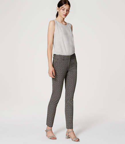 Image of Tall Tiled Essential Skinny Ankle Pants in Julie Fit