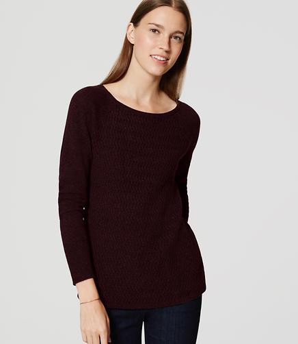 Image of Petite Chevron Sweater