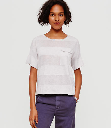 Image of Lou & Grey Shadowstripe Sweater Tee