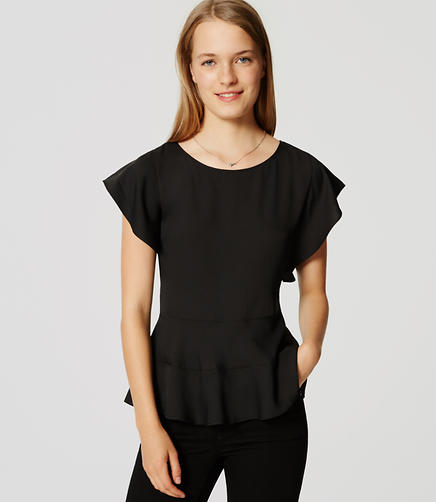 Image of Peplum Tee