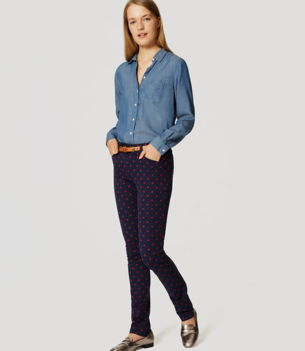 Image of Geo Bi-Stretch Skinny Pants in Marisa Fit