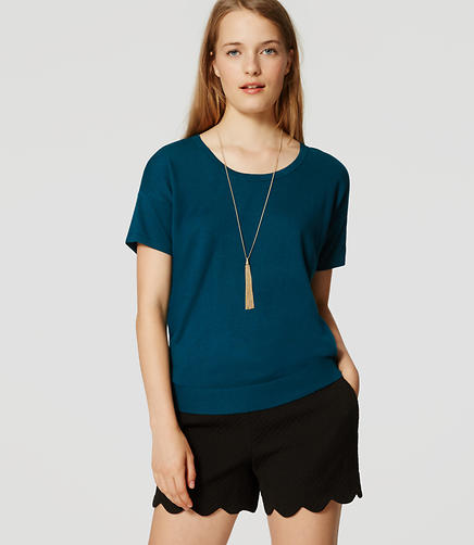 Image of Petite Sweater Tee