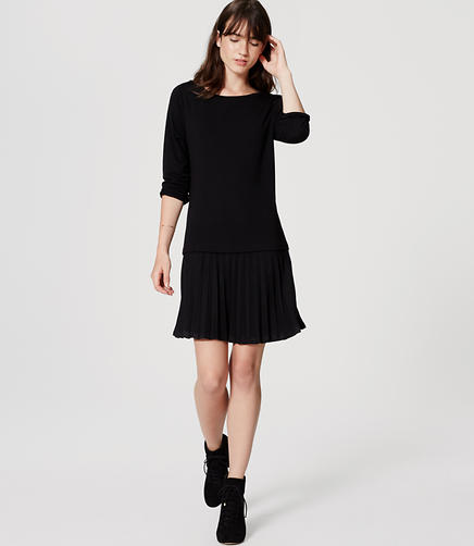 Image of Pleated Flippy Dress