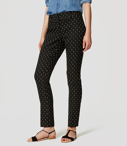 Image of Petite Diamond Dot Essential Skinny Ankle Pants in Julie Fit
