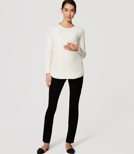 Image of Maternity Skinny Corduroy Pants