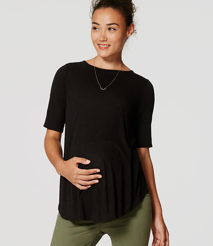 Image of Maternity Swing Tee