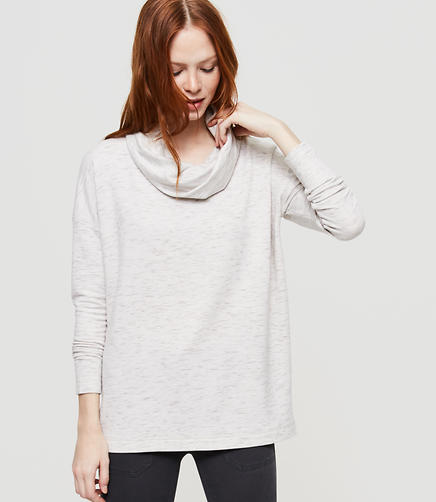 Image of Lou & Grey Zen Bounce Cowlneck Top