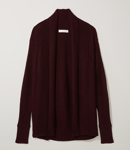 Image of Shawl Open Cardigan