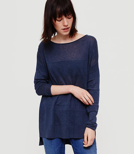 Image of Lou & Grey Shadowstripe Sweater Tunic