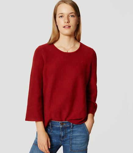 Image of Petite Bell Sleeve Sweater