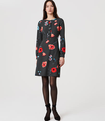 Image of Floral Breeze Shirtdress