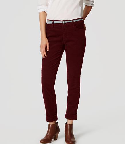 Image of Petite Curvy Skinny Corduroy Pants