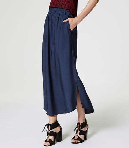 Image of Fluid Maxi Skirt