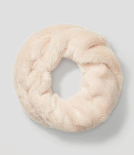 Image of Faux Fur Popover Scarf