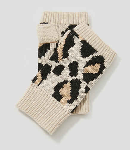 Image of Spotted Fingerless Gloves