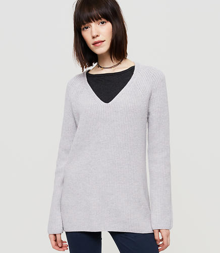 Image of Lou & Grey Ribbed Tunic Sweater