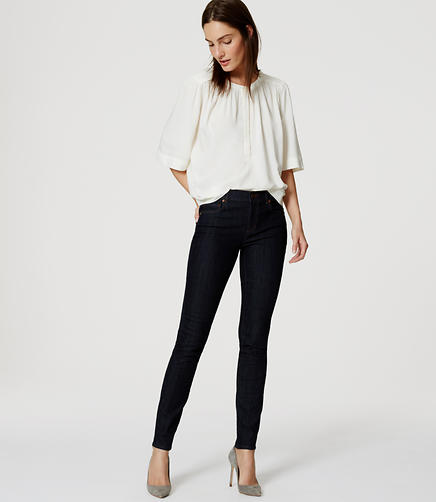 Image of Modern Skinny Ankle Jeans in Dark Rinse Wash