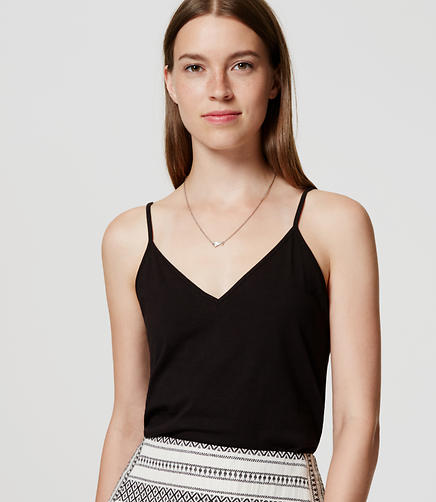 Image of V-Neck Clean Cami