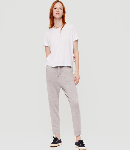 Image of Lou & Grey Cashmere Drawstring Pants
